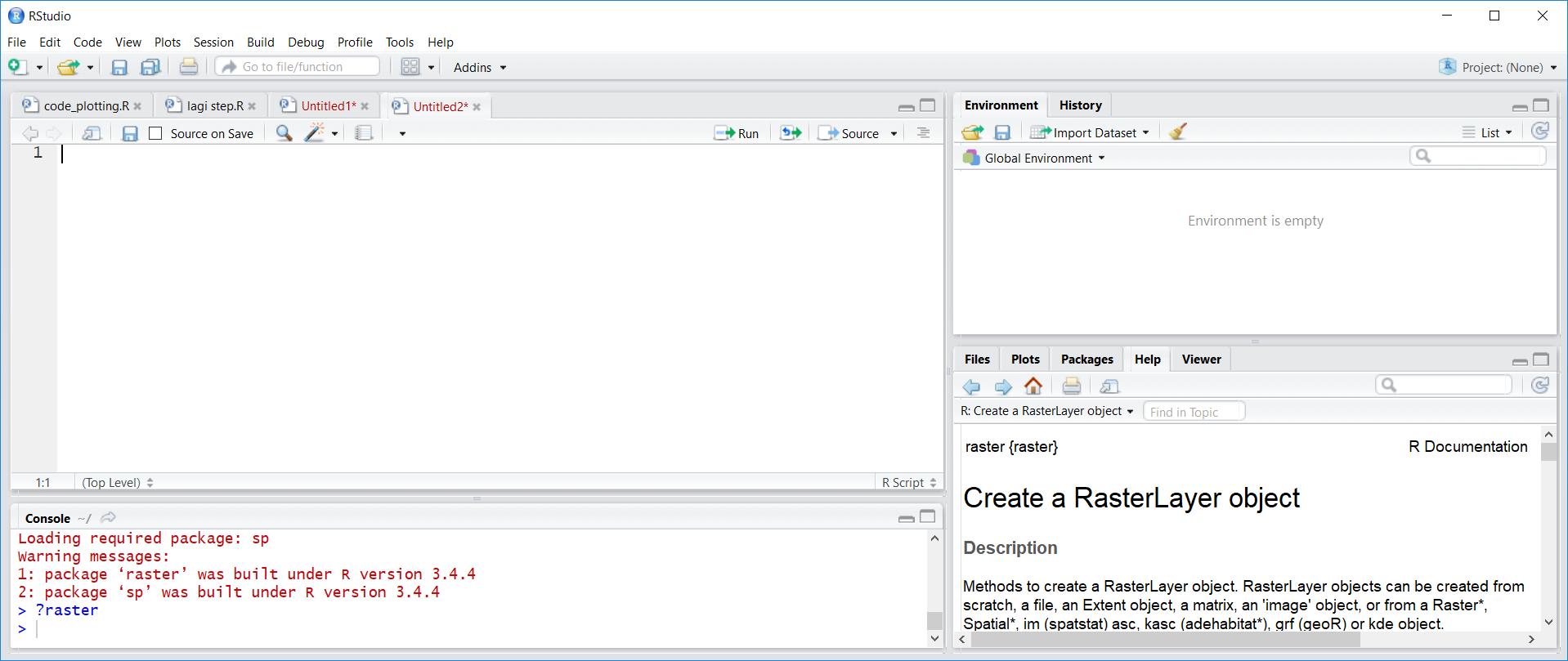 R Studio Instalasi Package Dan Data Frame Ira Dan Hujan